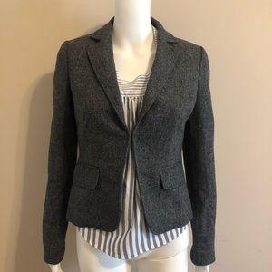 J. CREW Herringbone Blazer Jacket